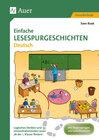 Buchcover Einfache Lesespurgeschichten Deutsch