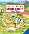 Buchcover Sachen suchen: Bei den Tieren