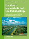 Buchcover Handbuch Naturschutz und Landschaftspflege
