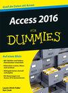 Buchcover Access 2016 für Dummies