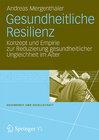 Buchcover Gesundheitliche Resilienz