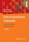 Buchcover Statisch bestimmte Stabwerke