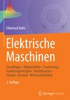 Buchcover Elektrische Maschinen