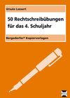 Buchcover 50 Rechtschreibübungen für das 4.Schuljahr