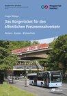 Buchcover Das Bürgerticket für den öffentlichen Personennahverkehr
