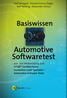 Buchcover Basiswissen Automotive Softwaretest