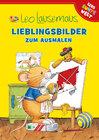 Buchcover Leo Lausemaus - Lieblingsbilder zum Ausmalen